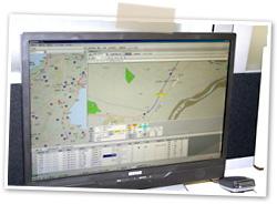 三重のチャーター便はカワキタエクスプレス|動態管理/業務管理システムイメージ